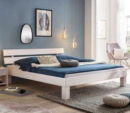 Bett Karmijn aus massivem Echtholz