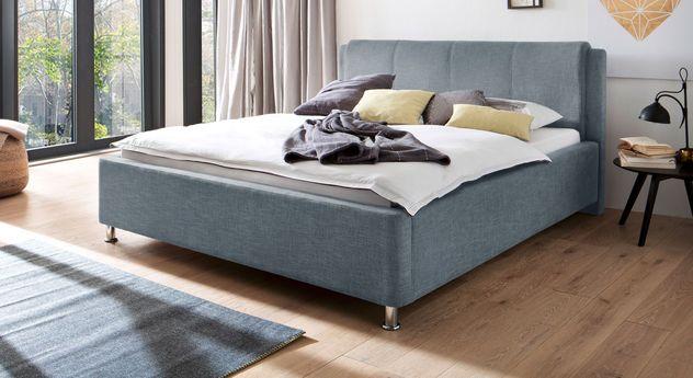 Blaues Bett La Marsa in 180er Breite