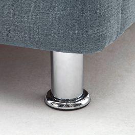 Bett La Marsa mit stabilen Füßen aus Metall