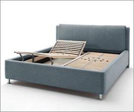 Modernes Bett La Marsa inklusive Lattenrost
