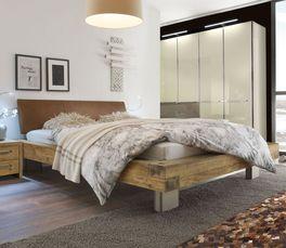 Bett Limeira in trendigem Factory-Style