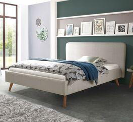 Klassisches Bett Magura mit Stoffbezug