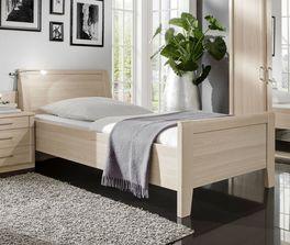Bett Montego mit pflegeleichter Dekor-Oberfläche