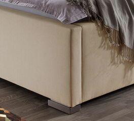 Bett Sesimbra mit niedrigen Eckfüßen