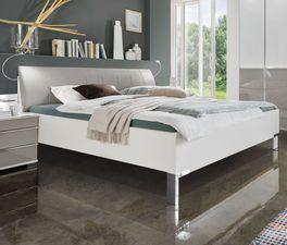Bett Shanvalley mit alpinweißem Rahmen