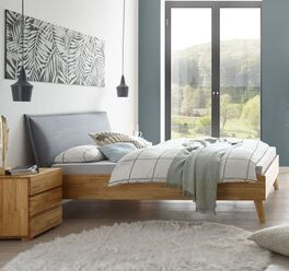 Langlebiges Bett Soprenia in trendigem Look