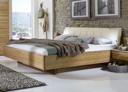 Bett Temir aus teilmassivem Holz