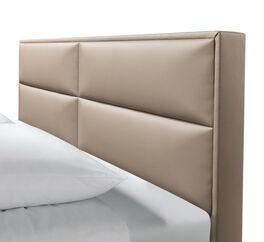 Hochwertiges Bett Thomes mit Polster-Kopfteil