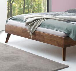 Bett Tomino mit geradem Rahmen