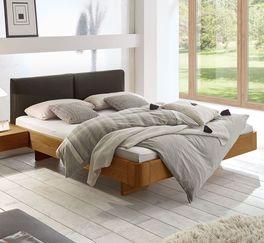 Holzbett Vallenar mit robuster Konstruktion