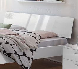 Modernes Bett Wayne mit geneigtem Kopfteil