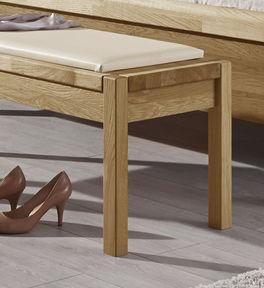 Bettbank Praia mit in die Sitzfläche integrierten Beinen