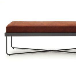 Bettbank Vegeta mit hohem Sitzpolster