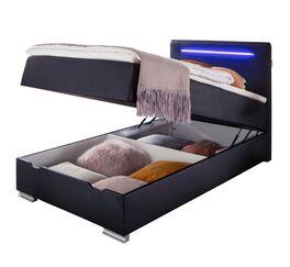 Bettkasten-Boxspringbett Andrik mit robustem Kunstlederbezug