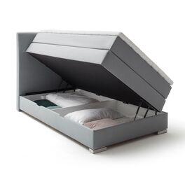 Bettkasten-Boxspringbett Ivetta mit komfortabler Gasdruckfeder