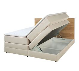Bettkasten-Boxspringbett Peachland mit pflegeleichtem Stoffbezug