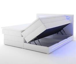 Bettkasten-Boxspringbett Tarasco mit praktischem Stauraum
