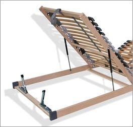 Bettkasten-Lattenrost youSleep mit einfach verstellbarem Fußteil