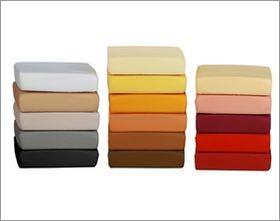 Bettlaken in diversen Farben