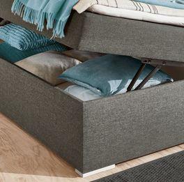 Boxbett Cartinis mit weißen Holzfüßen
