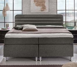 Boxspringbett Lurato in modernem Design