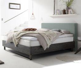 Design-Boxspringbett Mijas im Factory-Look