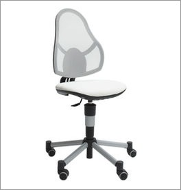 LIFETIME Bürostuhl Original mit robustem Metallkreuz