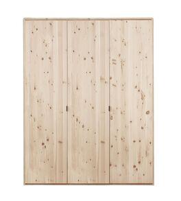 Drehtüren-Kleiderschrank Alistra mit robusten Holztüren