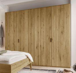 Drehtüren-Kleiderschrank Eichfeld mit Soft-Close-Funktion