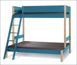 Etagen-Kombibett Kids Town Color in komfortabler Größe