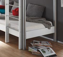 Praktisches Etagenbett Jan mit Schlafplatz unten