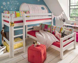 Etagenbett Kids Paradise für Dachschrägen mit zwei Schlafplätzen