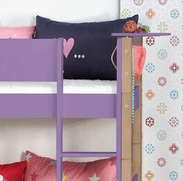 Sicheres Etagenbett Kids Town Color mit stabiler Leiter
