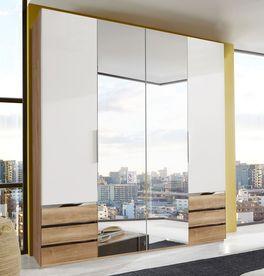 Stilvoller FunktionsKleiderschrank Valloria zum günstigen Preis