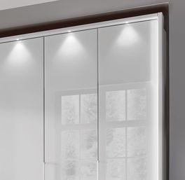 Moderner Funktions-Kleiderschrank Westville mit LED-Licht