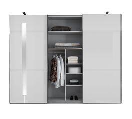 Angesagter GALLERY M SChwebetüren-Kleiderschrank IMOLA W in Weiß mit Zusatz-Ausstattung