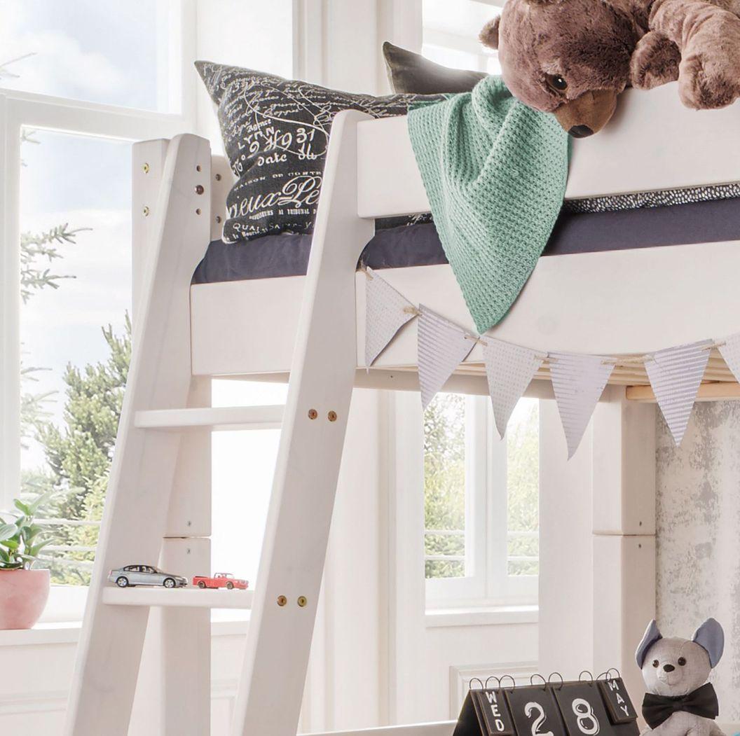 Hochbett Kids Dreams mit sicherem Einstieg