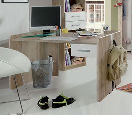 Höhenverstellbarer Schreibtisch Zagra aus robustem MDF