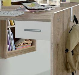 Höhenverstellbarer Schreibtisch Zagra mit praktischer Schublade