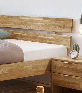 Holzbett Kanata inklusive stabilem Kopfteil