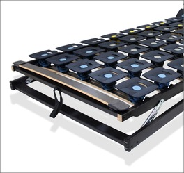 Lattenrost orthowell bestflex mit flexiblem Tellermodul