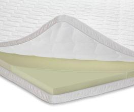 Weicher Viscoschaum-Topper als komfortable Schlafunterlage