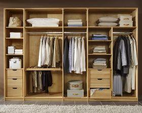 Innenausstattung für Kleiderschränke