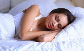 Innere Uhr Frau schläft