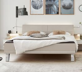 INTERLIVING Bett 1009 in ansprechendem Design