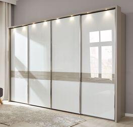 INTERLIVING Schwebetüren-Kleiderschrank 1009 mit optionalem Rahmen