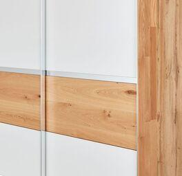 INTERLIVING Schwebetüren-Kleiderschrank 1202 mit weißen Fronten