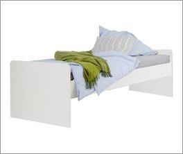 Jugendbett inklusive Kopf- und Fußteil