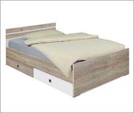 Günstiges Bett Tropea für Jugendzimmer geeignet