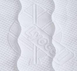 Kaltschaum-Matratze CleverSleep Comfort mit atmungsaktivem Matratzenbezug